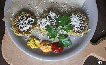 chiftele vegetariene bogate în proteine